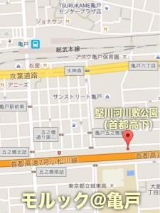 竪川河川敷公園map