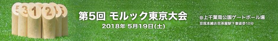 <予告>第5回モルック東京大会
